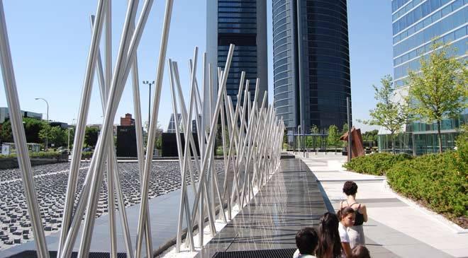 area de las cuatro torres, Madrid españa- españa es cultura