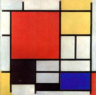 piet-mondrian-composicic3b3n-en-rojo-amarillo-azul-y-negro-1926