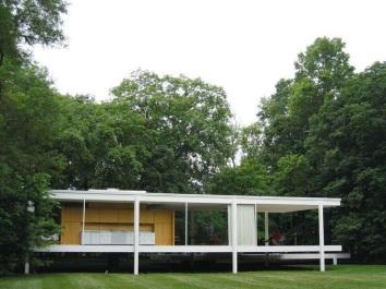 Casa Farnsworth ||tecnohaus.blogspot.com