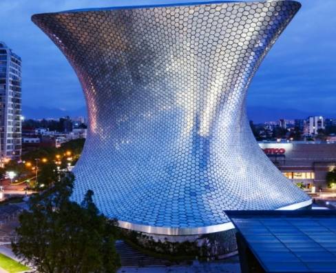 Museo Soumaya, CDMX ll Arq, Fernando Romero ll Revista COSAS México